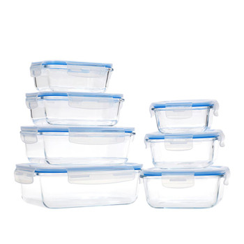 Wolfgang Puck 14-piece Glass Food Storage Containers with Lids