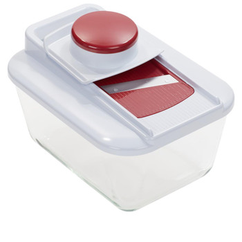 Wolfgang Puck Chop & Slice Pro Includes Glass Storage with Lid