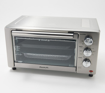 PowerXL Stainless Steel Air Fryer Oven with Grill Refurbished