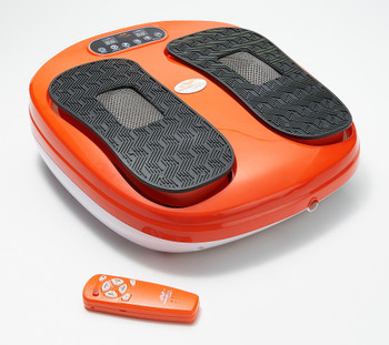 Power Legs Vibrating Foot Massager Platform w/ Acupressure Refurbished