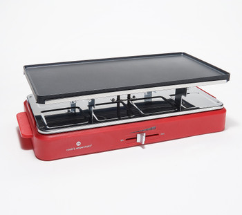 Cook's Essentials Tabletop Grill with Personal Broiler Pans