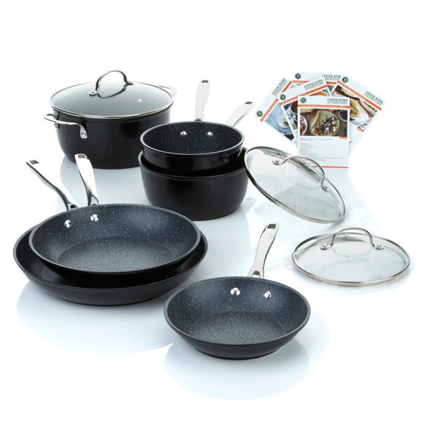 Curtis Stone DuraPan 9-piece Forged Nonstick Cookware Set