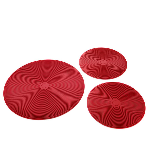 Curtis Stone Set of 3 Silicone Trivets