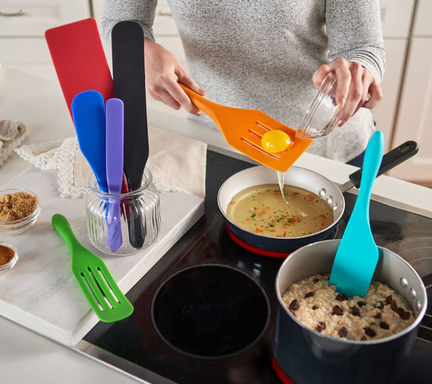 Mad Hungry 7-Piece Multi-Use Silicone Spurtle Set