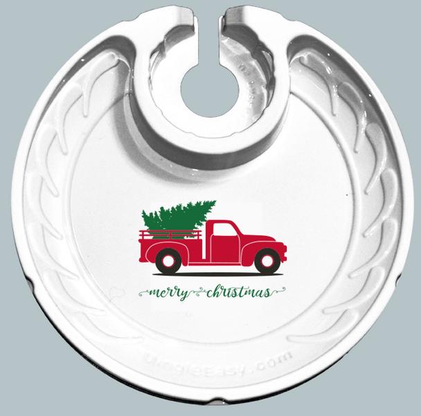 Holiday Christmas Truck (Box of 6 Plates)