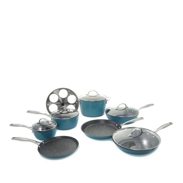 Curtis Stone Dura-Pan Nonstick 13-piece Cookware Set