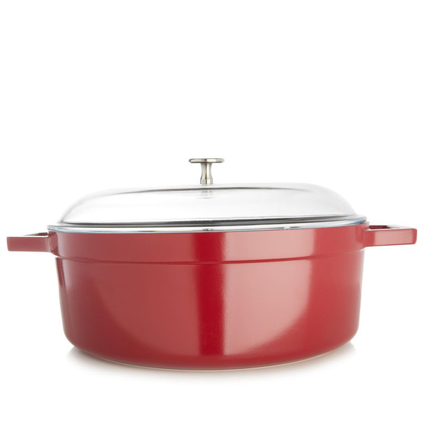 Curtis Stone Dura-Pan Nonstick 6.5-Quart Oval Roaster