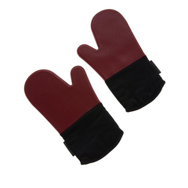 Curtis Stone Silicone Heat-Resistant Oven Mitts Model 627-432