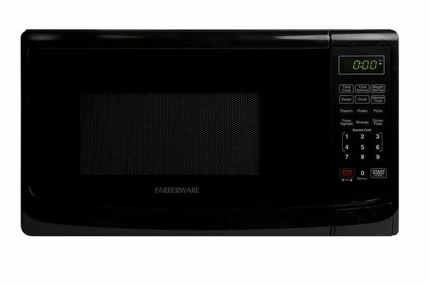 Farberware Microwave Oven FRF07BBTBKH 0.7 Cubic Foot 700 Watt, Black