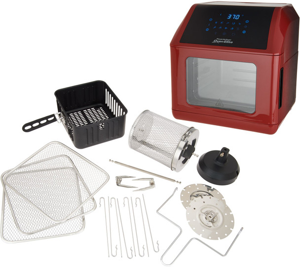 Power Air Fryer Oven Elite 6-qt with Accessories  - Refurbished