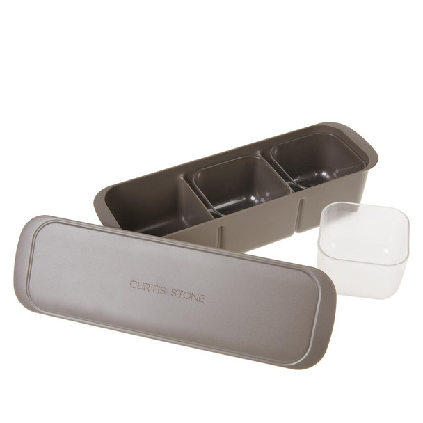 Curtis Stone 3-Chamber Prep Center with Bowls and Lid Model 652-491