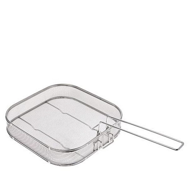 Curtis Stone Stainless Steel Easy Lift Basket- Refurbished