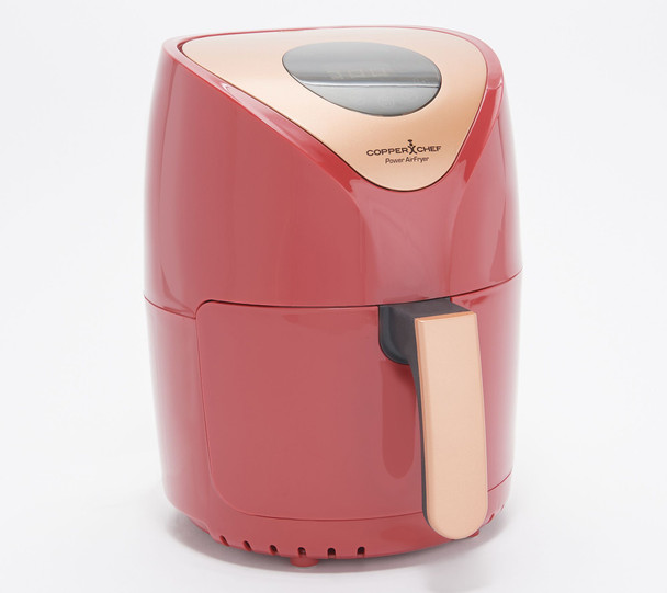 Copper Chef Power 2-qt 1000W Digital Air Fryer w/ Touch Screen