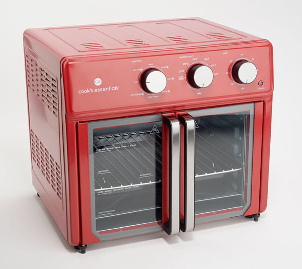 Cook's Essentials 25L French Door Air Fryer Oven w/ Rotisserie