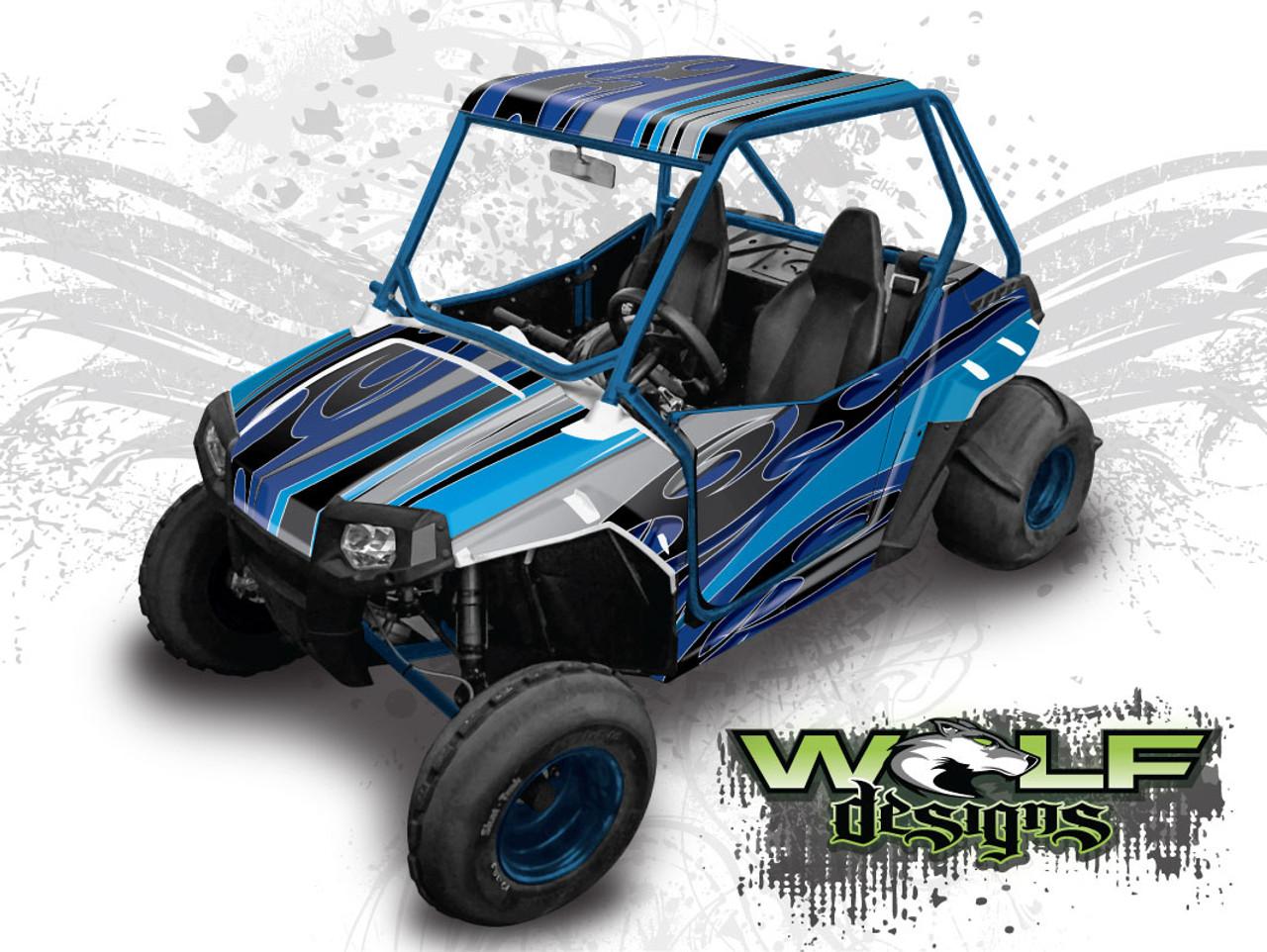 Polaris Razor 170 >> Wd Rzr170 003 Polaris Rzr 170 Utv Wrap Kit Extreme Plus Kit Shown