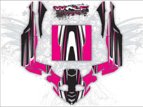 Yamaha Yxz 1000r Utv Graphic Wrap Kit