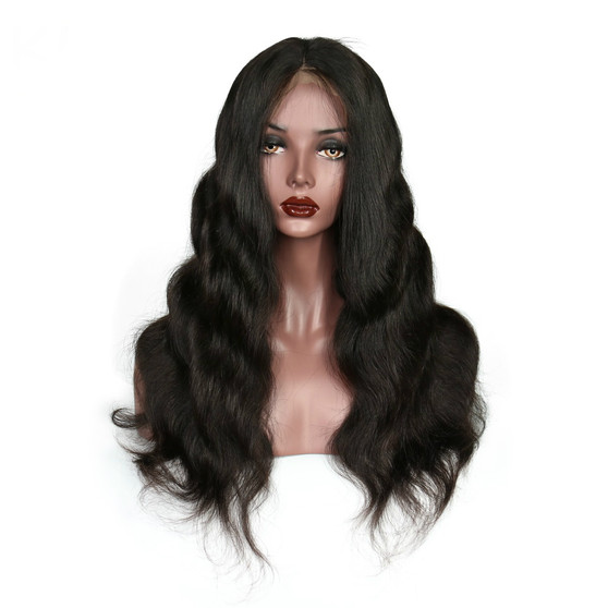Body Wave Lace Front Pre-Plucked Single Knot Wig with Baby Hairs