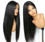 Straight Lace Front Pre-Plucked Wig with Baby Hairs