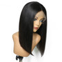 Straight Lace Front Pre-Plucked Bob Wig