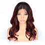 Loose Wave Lace Front Pre-Plucked Single Knot Wig with Baby Hairs 1/99J