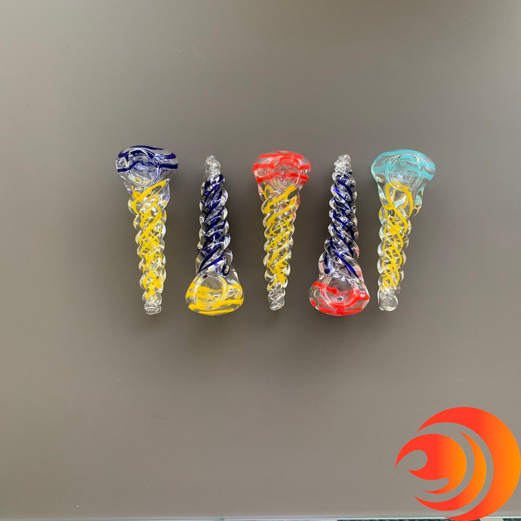Get a solid thick glass smoke pipe and pay no shipping with the Atomic Blaze online smoke shop 420 launch special.