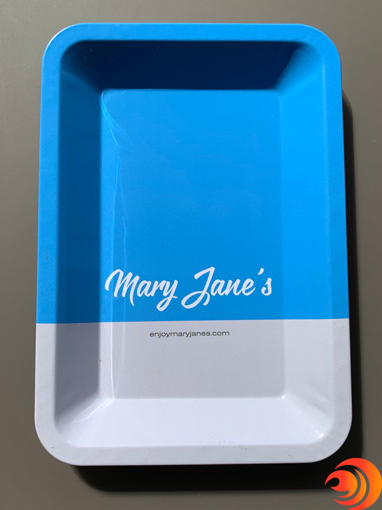 The Blazers Box, from Atomic Blaze Smoke Shop,includes a Mary Jane's rolling tray to help keep your area tidy.