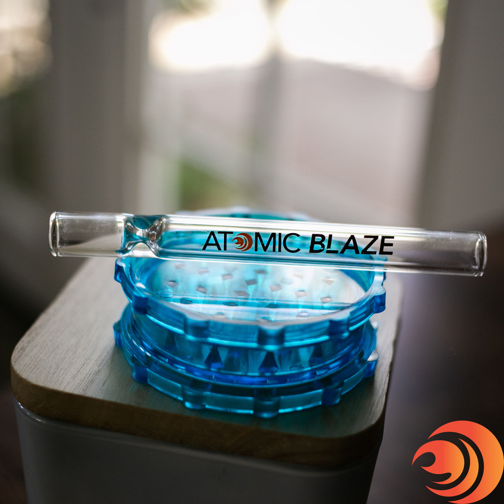 When you're ready to light up your one-hitter, grab your new grinder from the head shop and smoke with this The Blazers Box.