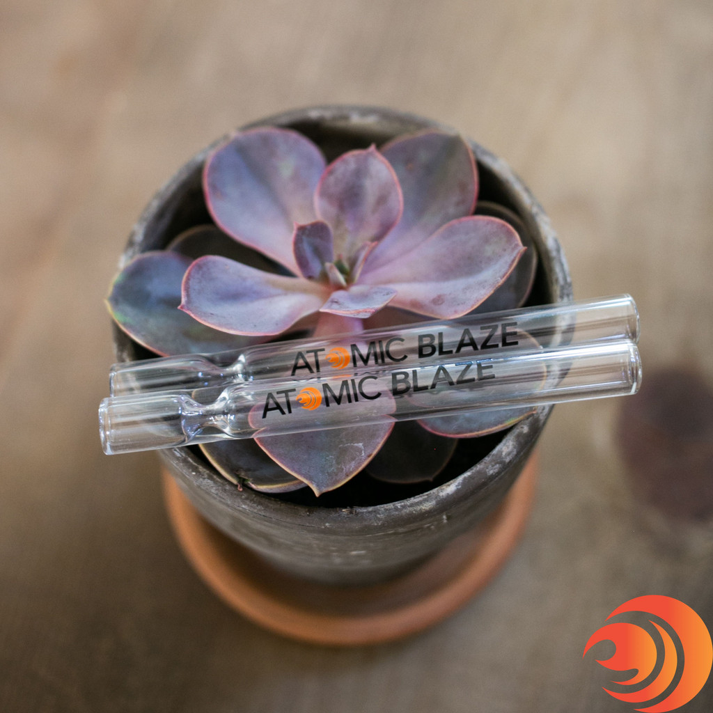 You will have a smooth toke of your favorite tobacco using one of our Atomic Blaze Online Smoke Shop branded one-hitters.