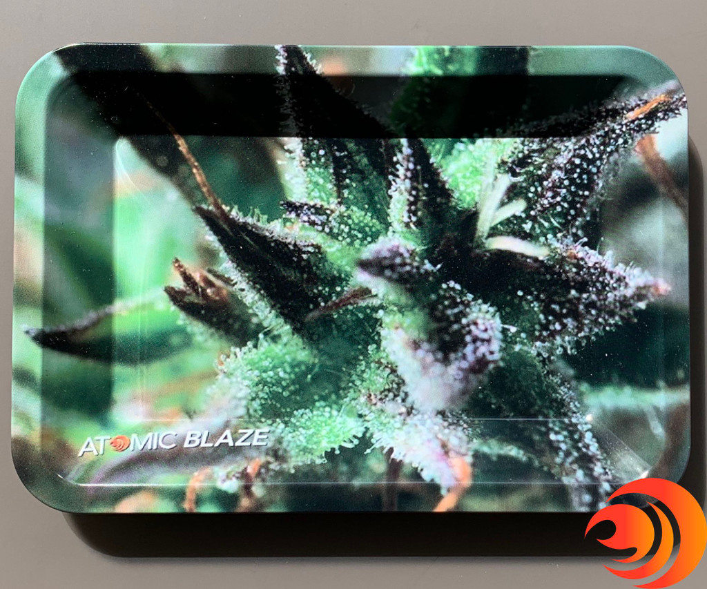 Every smoker needs a non-stick rolling tray to pack their glass bowls and rolling up something special.