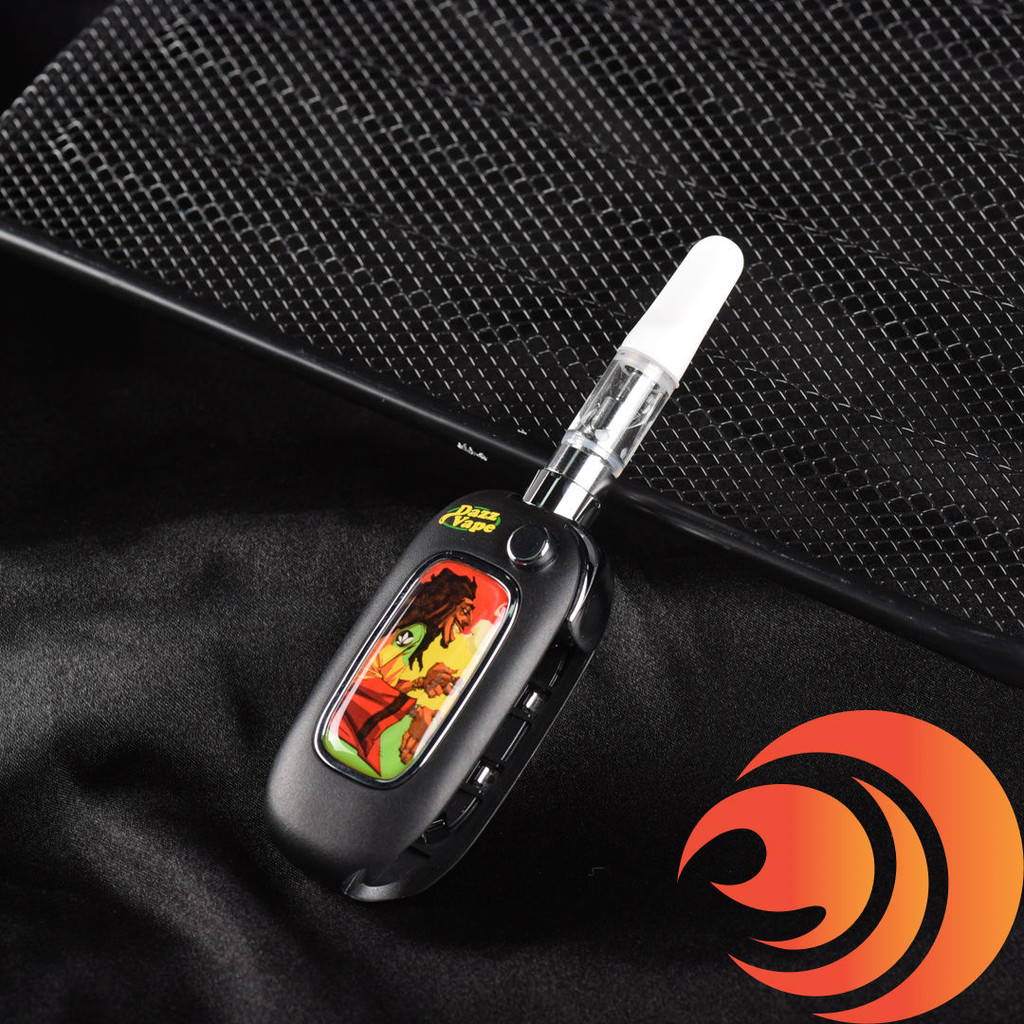 You don't have to worry about price with this Rasta man black vape 510 battery. Just enjoy its hits! Lowest prices on vape batteries at Atomic Blaze Smoke Shop.