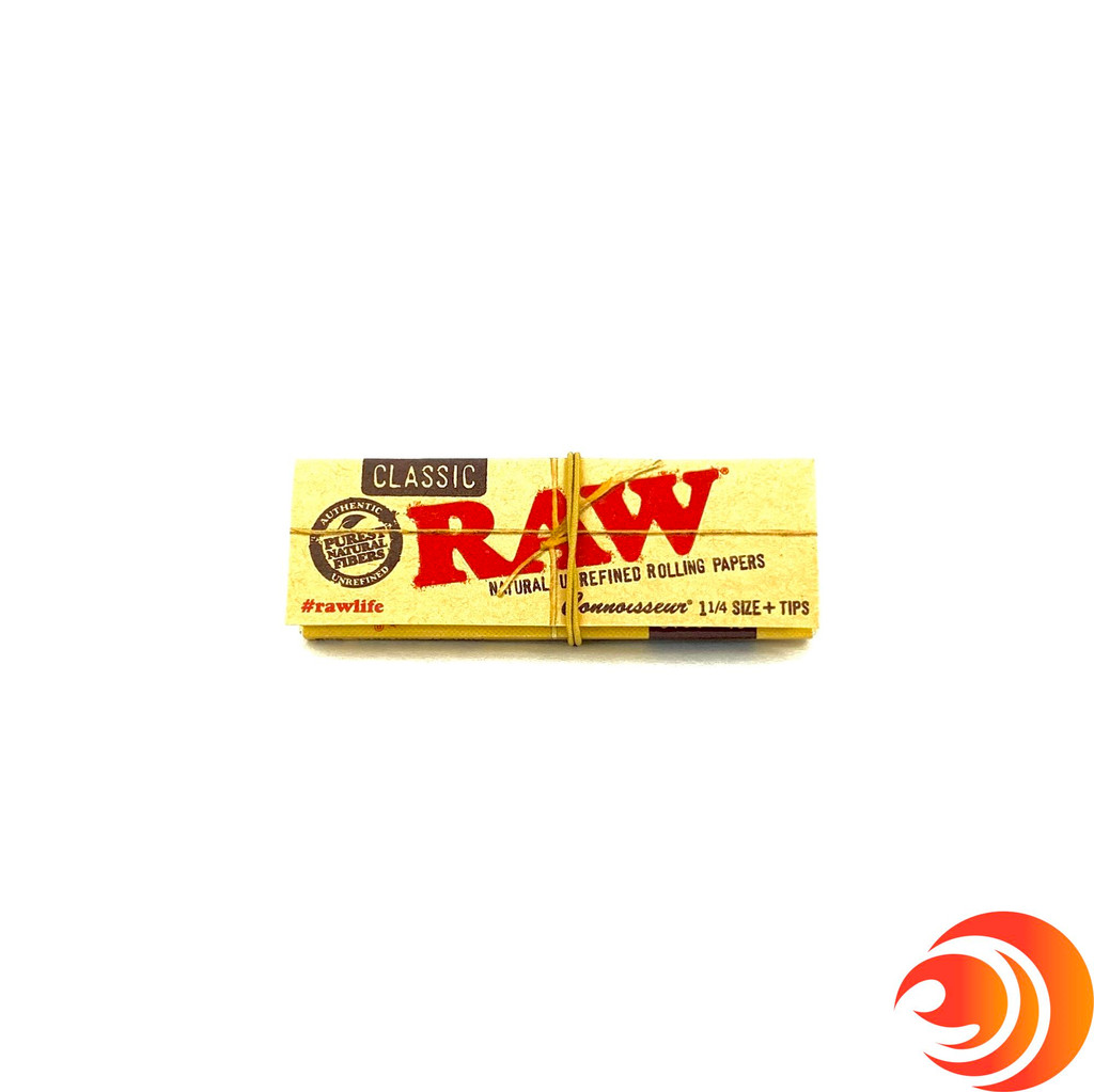 The Raw classic rolling papers are the trusted organic rolling papers found through the Atomic Blaze online headshop.