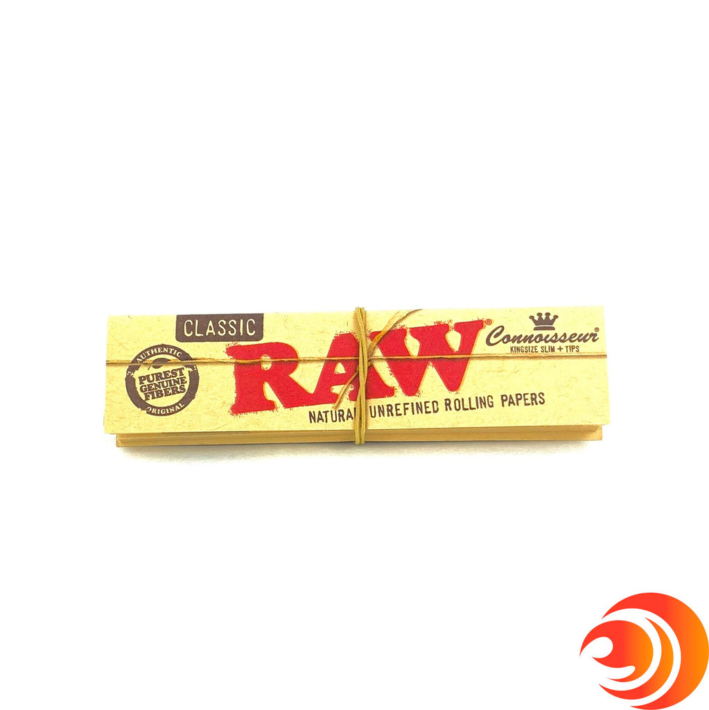 The RAW Kingsize Connoisseur papers at Atomic Blaze Headshop, are made from all natural and additive-free ingredients