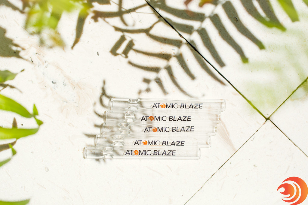 Atomic Blaze Chillums set