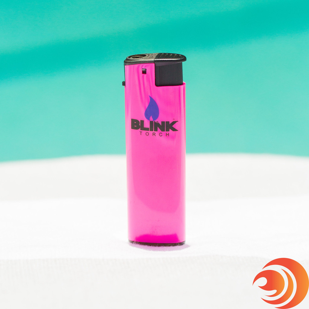 This little pink Blink lighter is windproof and a must have smoker accessory when smoking outdoors.