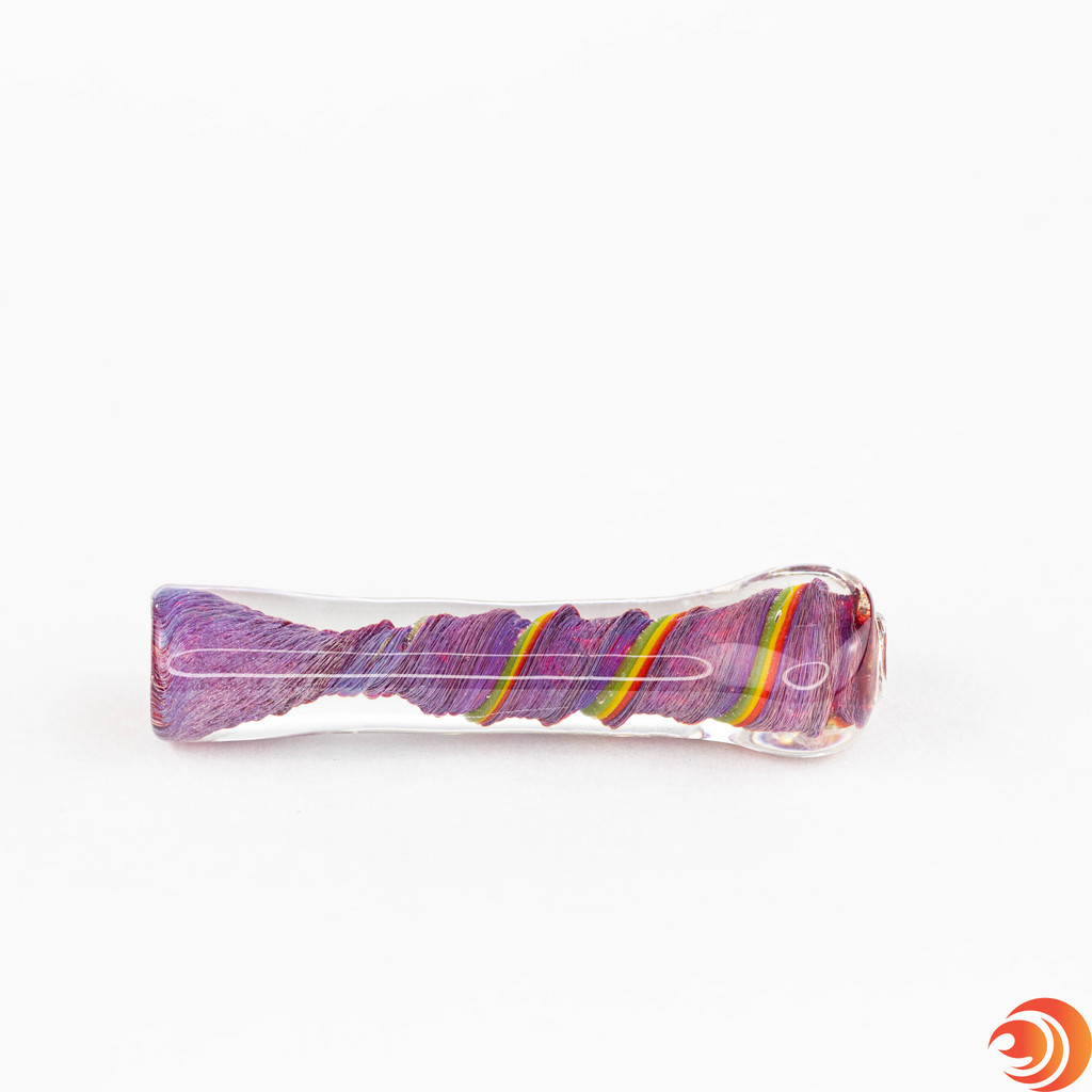 Buy red glass chillums for the lowest price from the best online smokeshop in Sarasota, FL. Atomic Blaze ships fast and discreet.