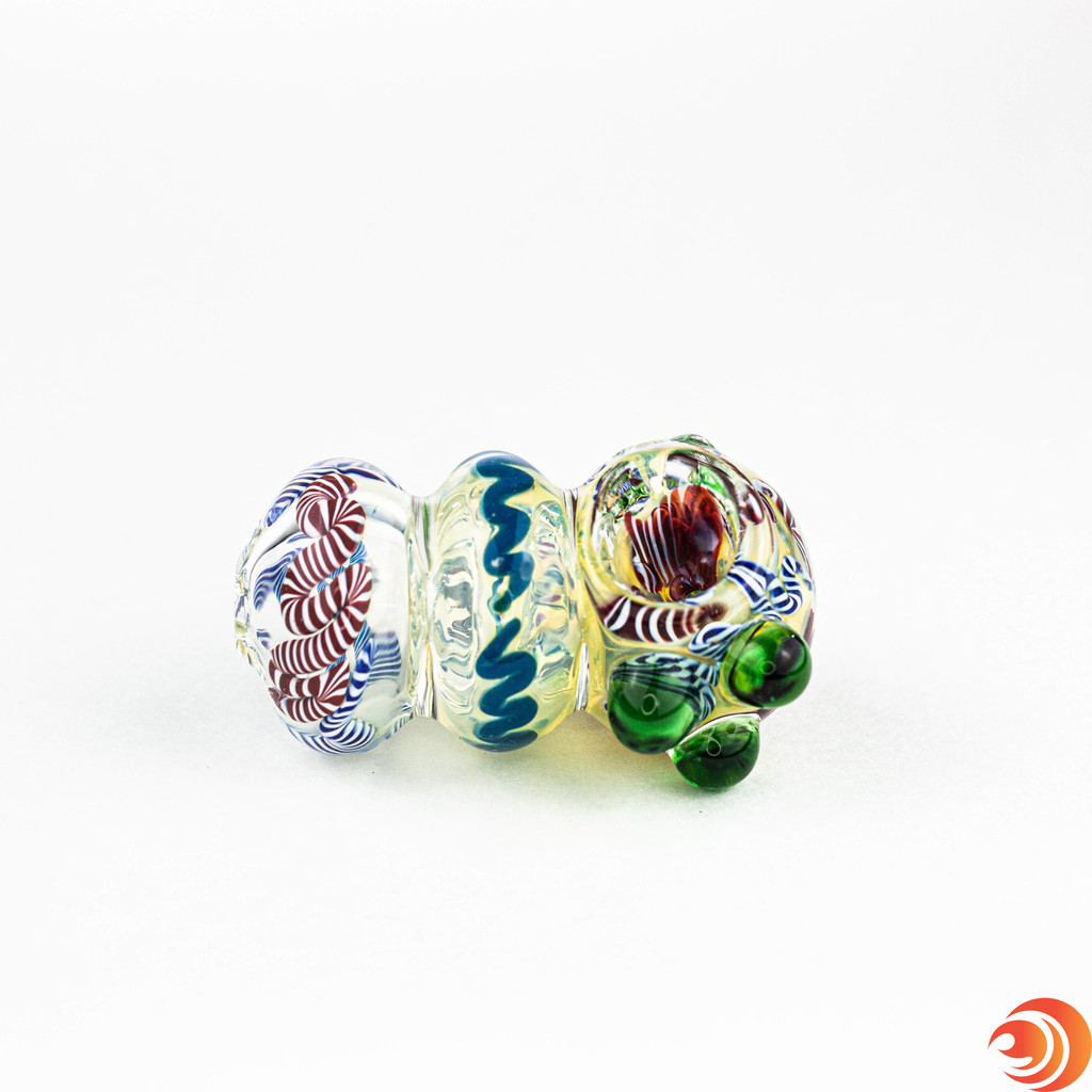 We love its durable triple-blown construction and perfect discreet size from Atomic Blaze Smoke Shop.