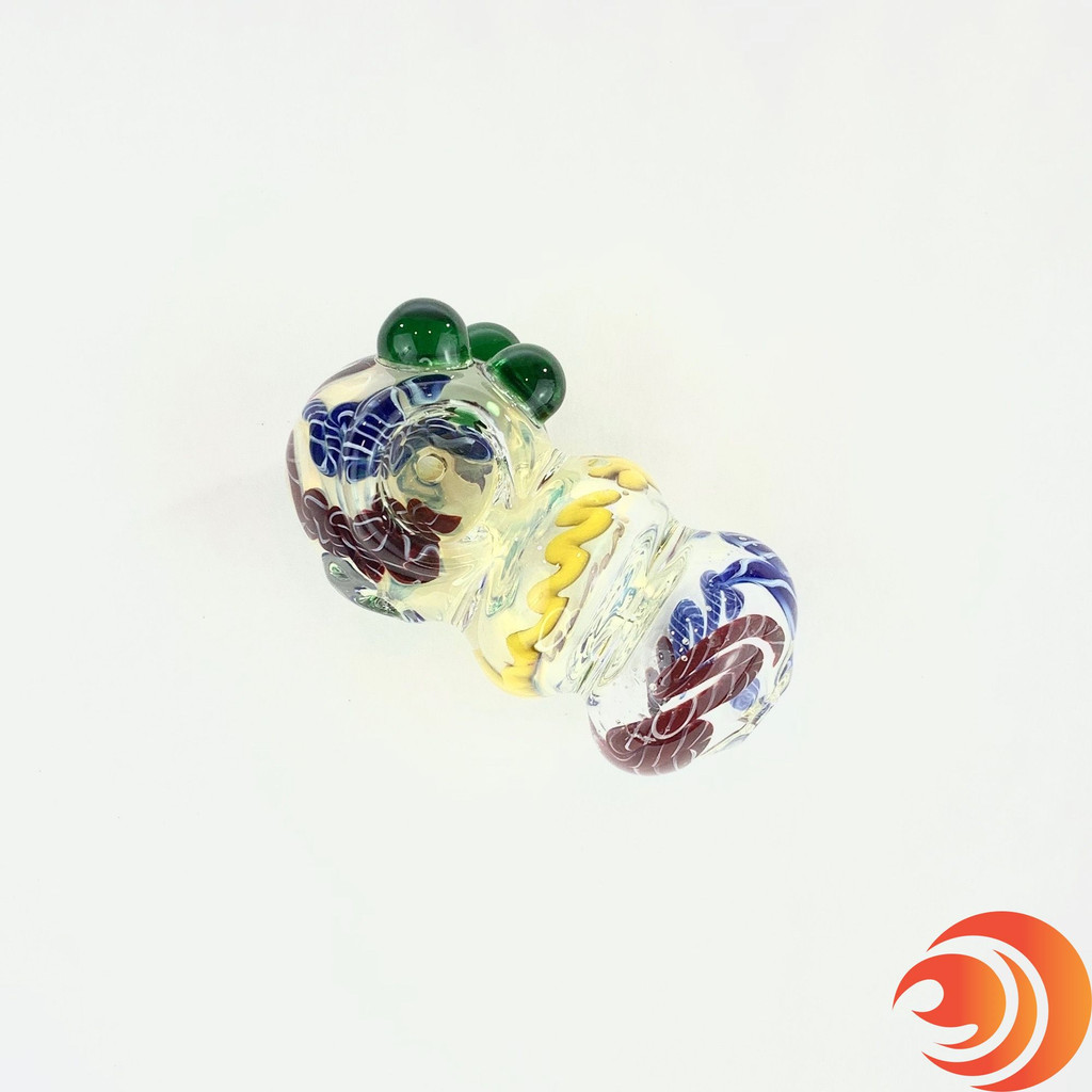 """This 3"""" glass pipe isn't too big and it isn't too small, but it sure packs the right sized punch!"""