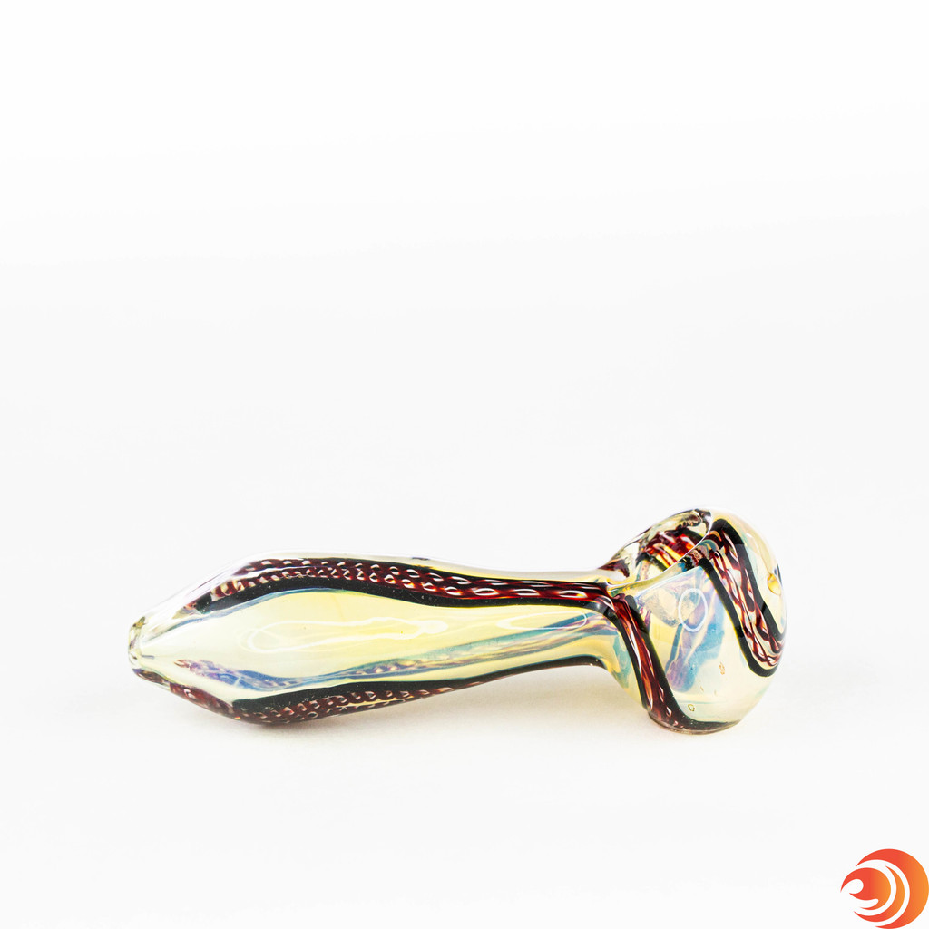 Their funky striped pattern will make this pipe the envy of your smoking buddies.