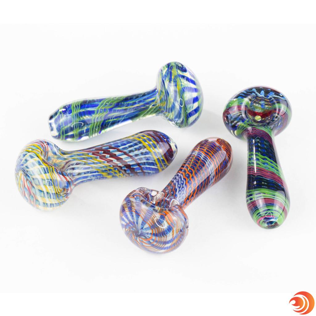 Buy a swirl glass pipe from Atomic Blaze online headshop, in Sarasota, FL. Atomicblaze has cheap smoking glass bowls with free shipping.