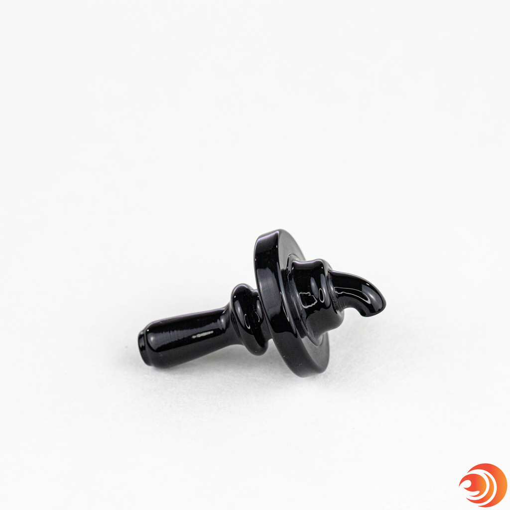 This black carb cap allows you to cap your 14mm quartz banger nail after a dab and clear the convertible bong. We ship discreetly from our headshop in Sarasota, FL.