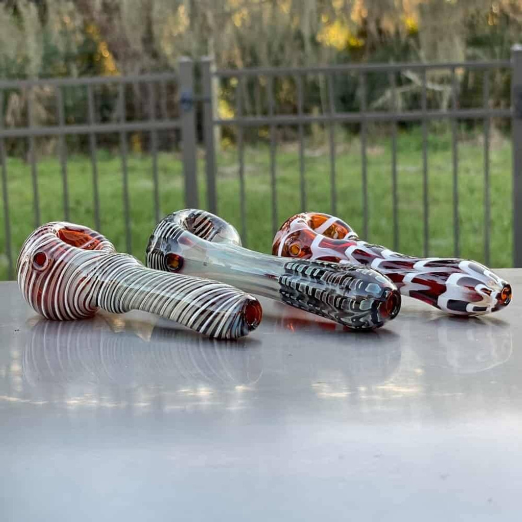 Sale on a Premium Plus Glass Pipe - Random Selection from AtomicBlaze Headshop and we always have the cheapest glass pipes and bongs and free shipping promos