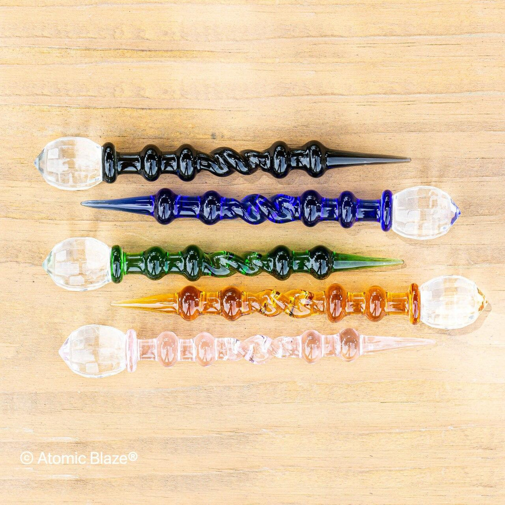 Sale on a Glass Septor Dabber from AtomicBlaze Headshop and we always have the cheapest glass pipes and bongs and free shipping promos