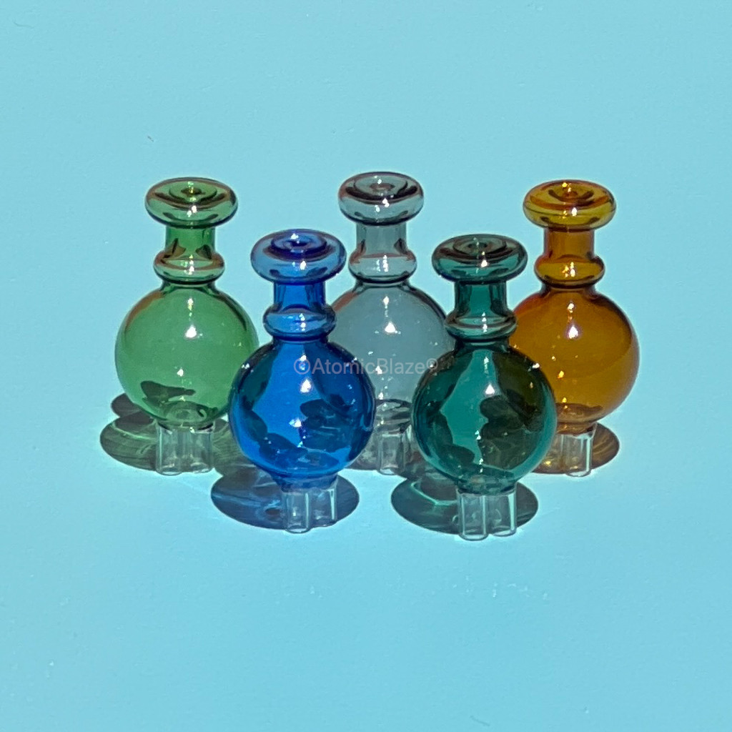 Buy your 30mm globe carb caps in a variety of colors from Atomic Blaze Online Smoke Shop.