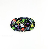 Get this medium sized rolling tray from the Atomic Blaze smoke shop and stop spilling your precious tobacco product all over the table and floor.