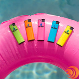The Blink Windproof Neon Torch Lighters refillable and sold in five colors on our online smoke shop.