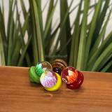 Purchase a glass flower carb cap in a variety of colors from Atomic Blaze Online Smoke Shop.