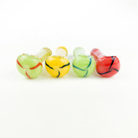 """Pick your favorite solid color for a 3"""" Glass Pipe and save your money at our online smoke shop."""