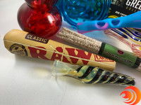 Get RAW cones in this specialty stoner box from Me Time Box Products, curated for Atomic Blaze Smoke Shop