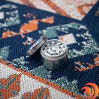 This 55mm metal grinder at Atomic Blaze online smoke shop, is not only affordable, but durable.