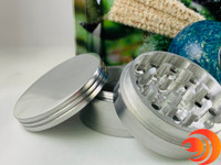This three chambered large metal grinder comes with the Premium Smokers Gift Bundle, just one item in the Atomic Blaze Smoke Pipe Contest giveaway.